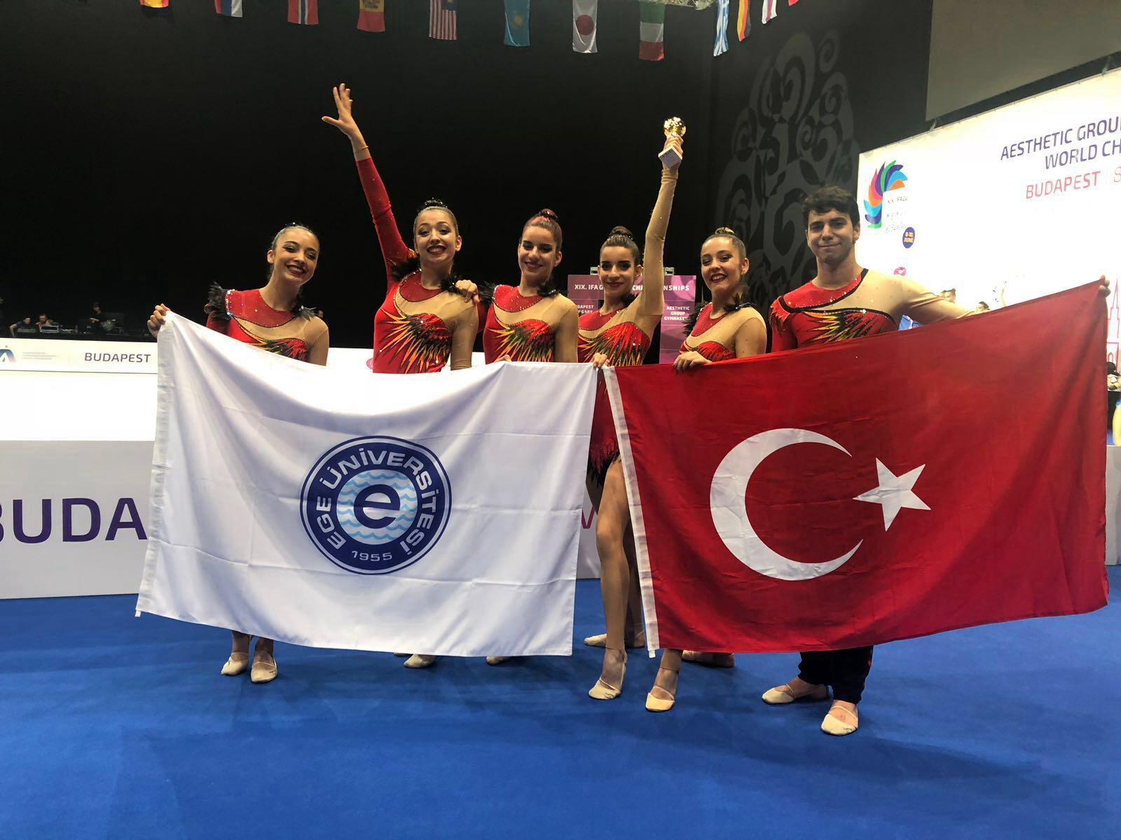 Budapeşte'de şampiyon Ege Üniversitesi