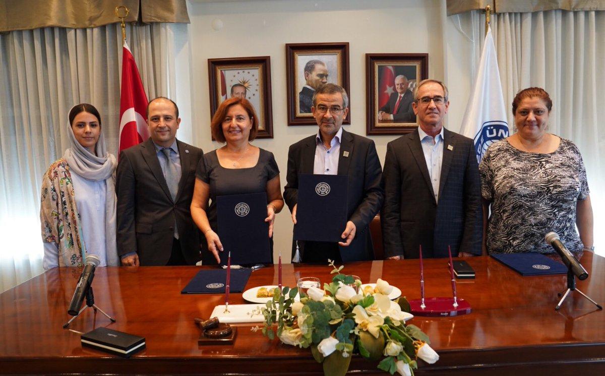 Ege Üniversitesi ile Urmia Üniversitesi arasında akademik işbirliği protokolü imzalandı