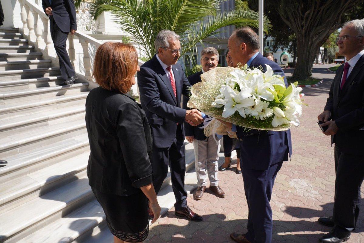 Sırbistan Eğitim ve Bilim Bakanı Sarcevic, Ege Üniversitesini ziyaret etti