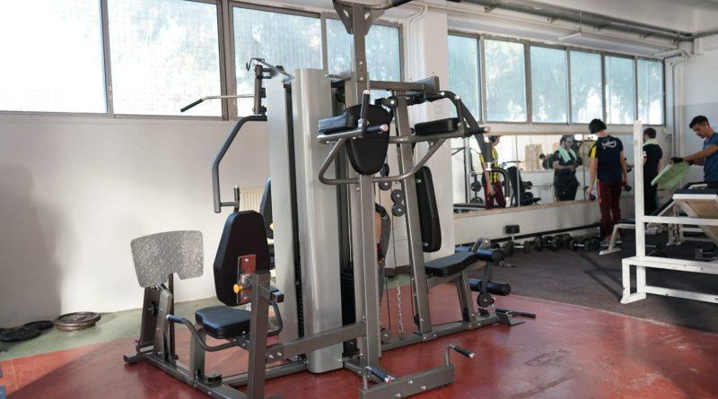 EÜ Sağlıklı Yaşam Salonu'nda yeni spor aletleri kullanıma hazır